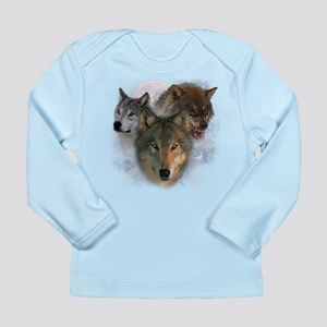 Watchful Eyes Long Sleeve Infant T-Shirt