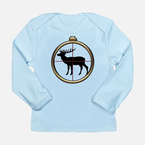 Elk Hunt Long Sleeve Infant T-Shirt