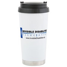 Invisible Disabilities Associ Stainless Steel Trav