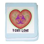 Toxic Love baby blanket