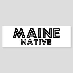 Maine Native Bumper Sticker