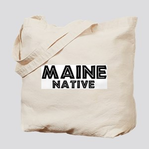 Maine Native Tote Bag