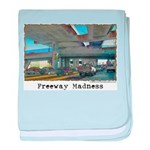 Freeway Madness baby blanket