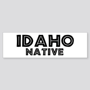 Idaho Native Bumper Sticker