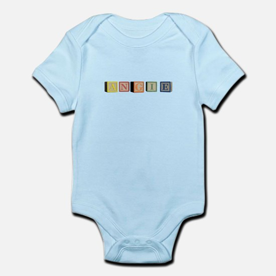 Angie Alphabet Block Infant Bodysuit