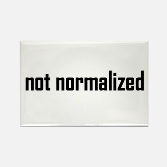 not normalized Rectangle Magnet
