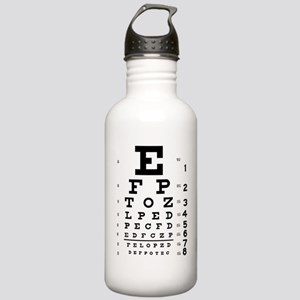 Eye Test Stainless Water Bottle 1.0L