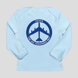 B-52G Peace Sign Long Sleeve Infant T-Shirt