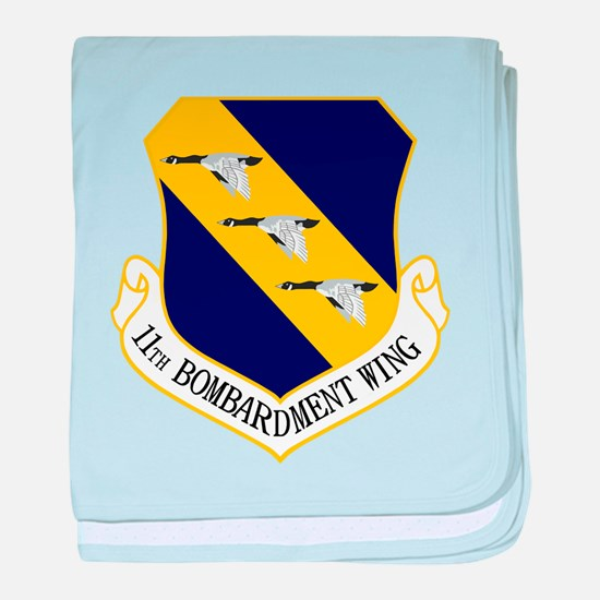 11th Bomb Wing Baby Blanket
