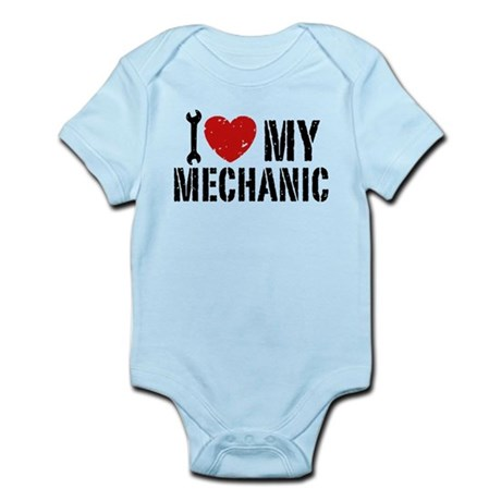 I Love My Mechanic Infant Bodysuit