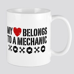 My Heart Belongs to a Mechanic Mug