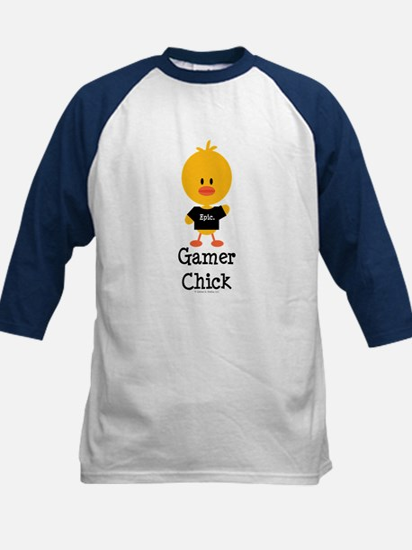 Gamer Chick Kids Baseball Jersey