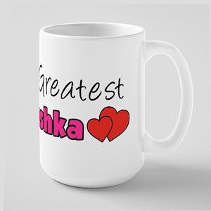 World's Greatest Babushka Large Mug