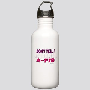 Don't Tell--A-Fib Stainless Water Bottle 1.0L