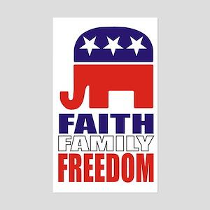Faith-Family-Freedom! Sticker (3x5)