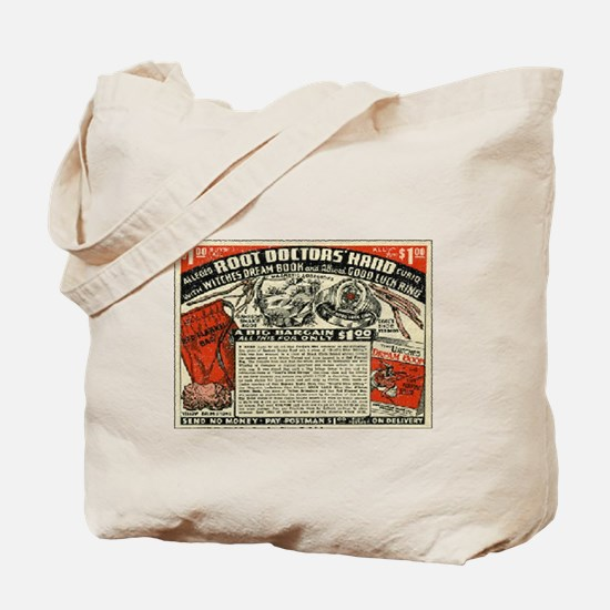 Root Doctor's Hand Tote Bag