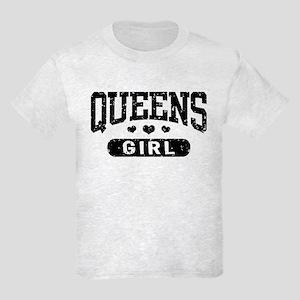 Queens Girl Kids Light T-Shirt