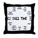 Jazz Time Real Book Throw Pillow