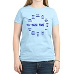 Jazz Time Blue Women's Light T-Shirt