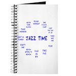 Jazz Time Blue Journal