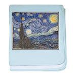 Van Gogh's Starry Night baby blanket