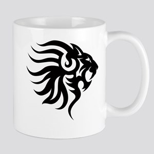 Tribal Tattoo Lion Mug