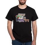 Reindeer is naughty Design Dark T-Shirt