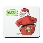 Lost Santa Elf Design Mousepad