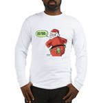 Lost Santa Elf Design Long Sleeve T-Shirt