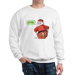 Lost Santa Elf Design Sweatshirt