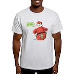 Lost Santa Elf Design Light T-Shirt
