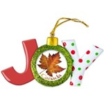 Canada Maple Leaf Souvenir Joy Ornament