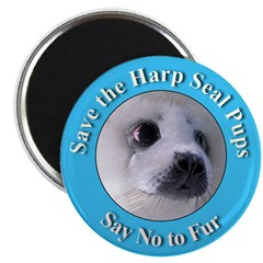 Anti-Fur Harp Seal Pup 2.25