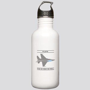 Pilots: How We Roll Stainless Water Bottle 1.0L