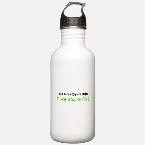 I are a Scientist Water Bottle