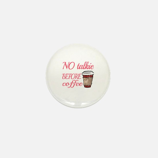 Cute Decaf Mini Button