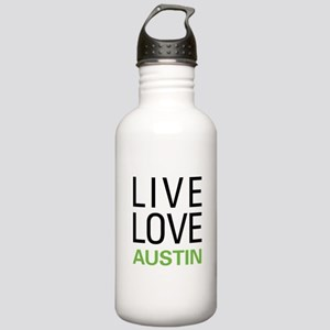 Live Love Austin Stainless Water Bottle 1.0L