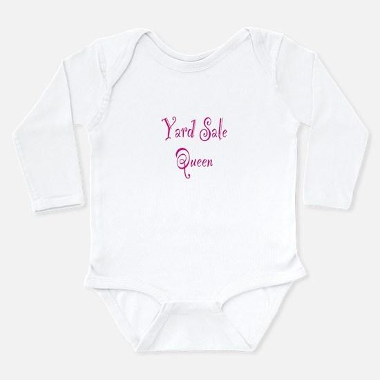 Yard Sale Queen Long Sleeve Infant Bodysuit