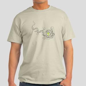 Smoke and Ankh Light T-Shirt