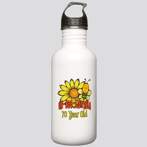 Un-Bee-Lievable 70th Stainless Water Bottle 1.0L
