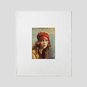 June Caprice 1917 Throw Blanket