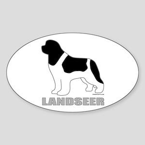 LANDSEER Sticker (Oval)