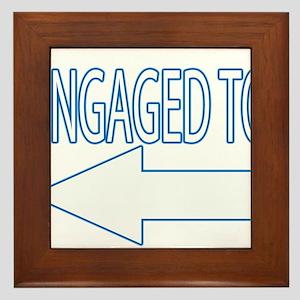 Engaged 1 Framed Tile
