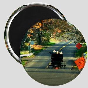 Road Work Magnet