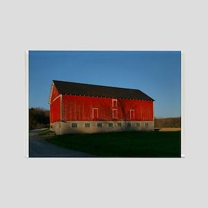 Big Red Barn Rectangle Magnet