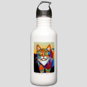 Cat-of-Many-Colors Stainless Water Bottle 1.0L