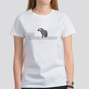 Be Intelligent - African Grey Women's T-Shirt