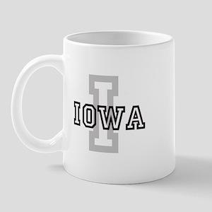 Letter I: Iowa Mug