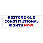 Restore our Constitution (Bumper Sticker 50 pk)