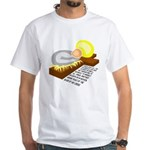 Jesus is GOD in Flesh White T-Shirt